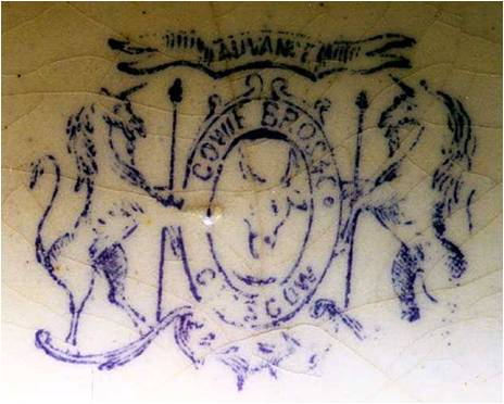 Cowie brothers pottery stamp