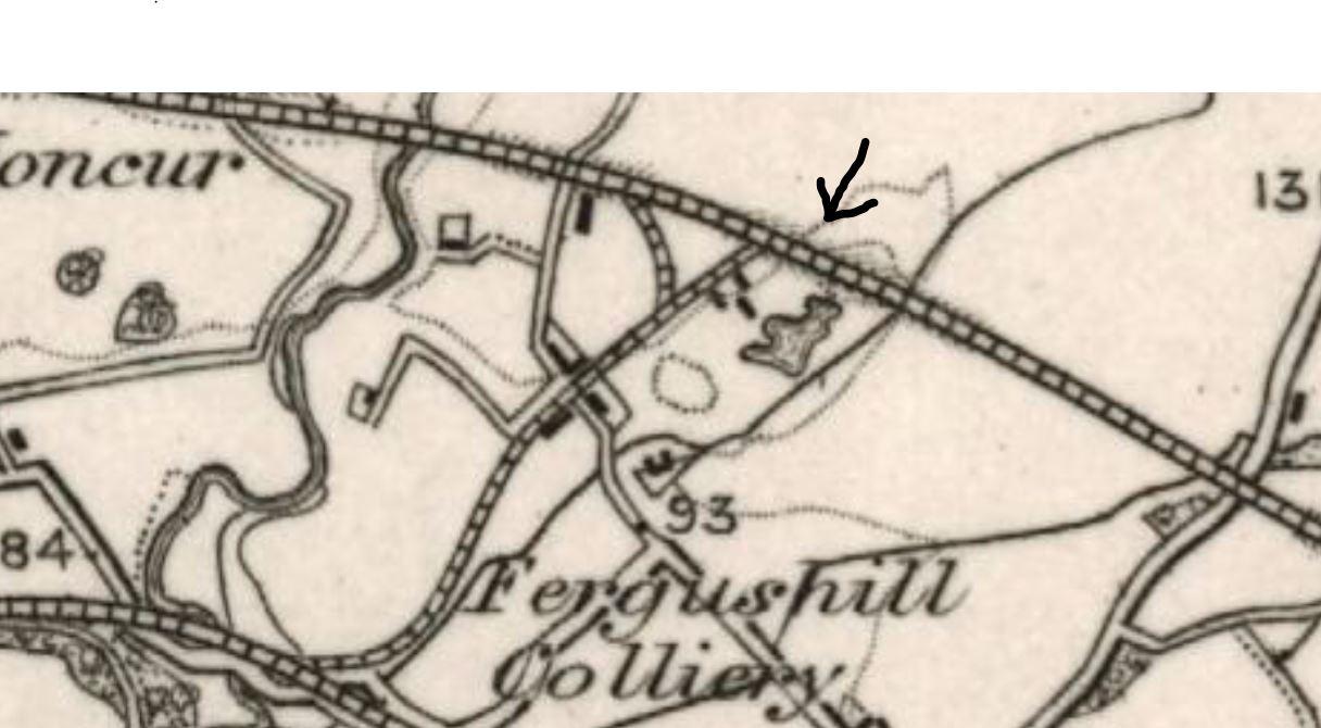 Map 1890 - Fergushill Tile Works