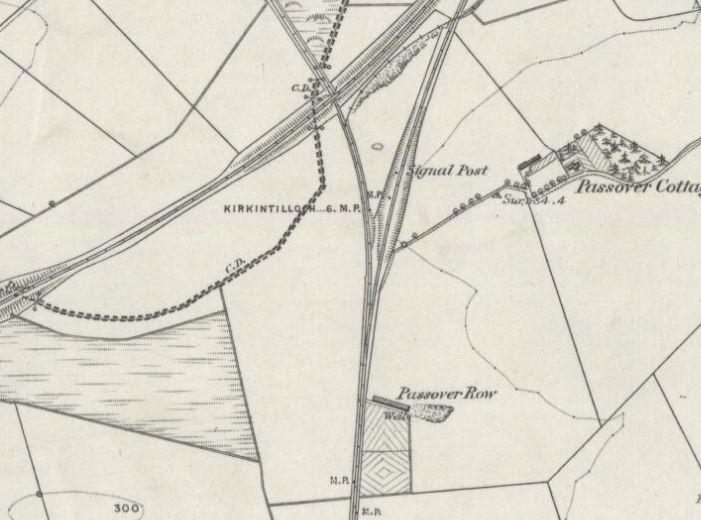 OS Map 1858 - Glenboig