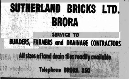 Brora Brick and Tile Works, Brora, Sutherland | Scotland's Brick