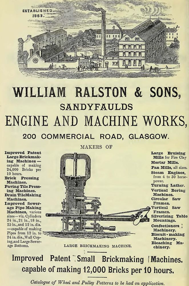 1882 William Ralston & Sons