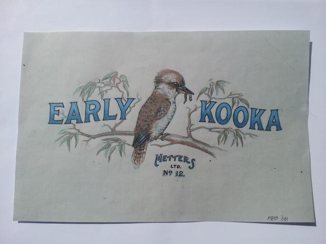 Early Kooka Metters