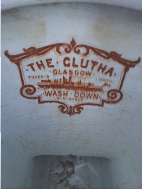 The Clutha Glasgow wash down water closet