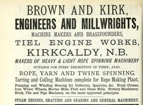 Brown and Kirk advert