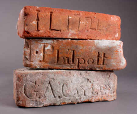 Market Lavington museum bricks