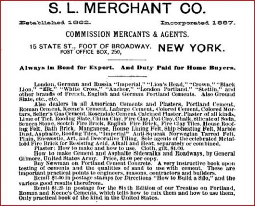 S.L Merchant and Co New York