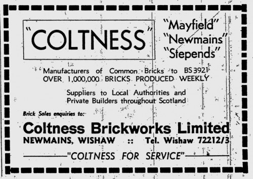 coltness mayfield newmains and stepends