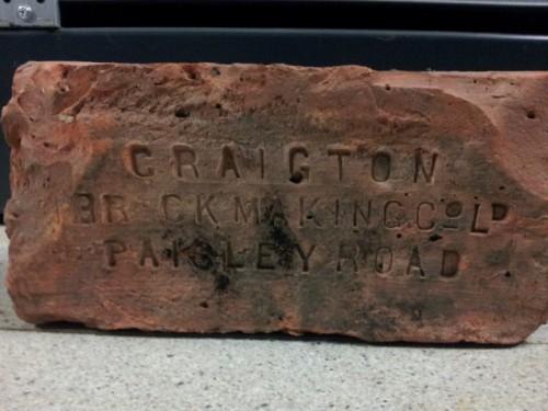 Craigton Brickmaking Co Ltd Paisley Road