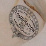 Doulton of London 'The Combination' (patent) works Lambeth & Paisley.