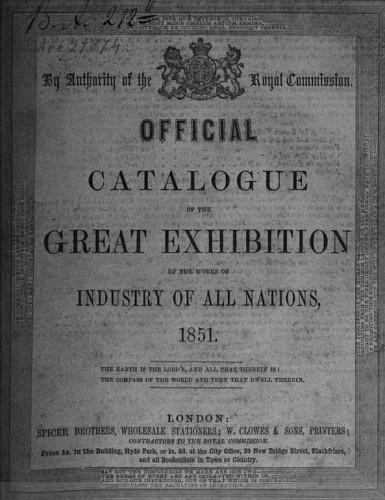 1851 Great Exhibition London