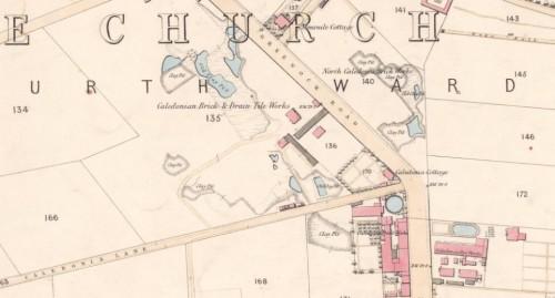1858 Caledonia brickworks Paisley