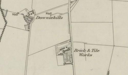 1868 downiehills brick & tileworks