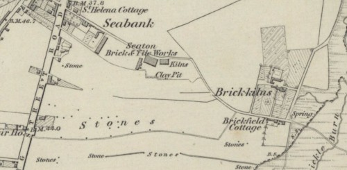 1869 Seaton brick and Tile works AND the Brick Kilns, Old Aberdeen Works