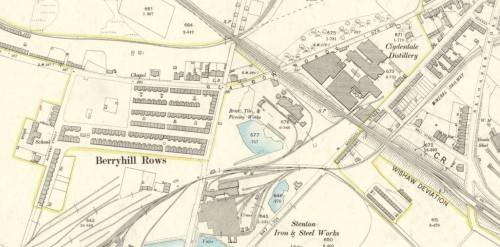 1896 Hudspith brickworks Wishaw