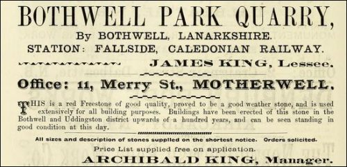 1896-advert-james-and-archibald-king-bothwell-park-quarries