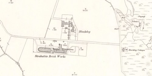 1899 Strathbathie brick and tile works, Blackdog