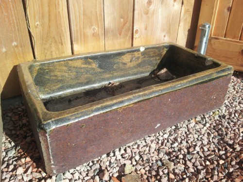 Culloden feeding trough?