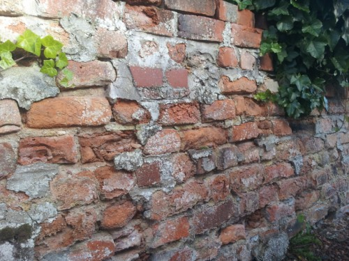 Culloden brick wall