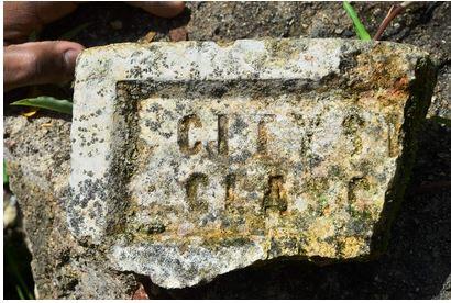 Cityside Glasgow brick found Trinidad