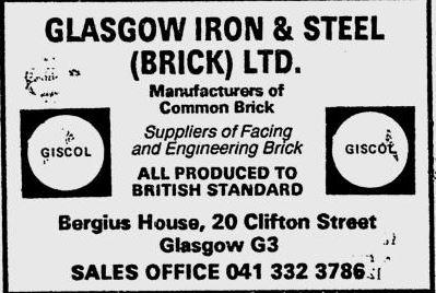 GISCOL BRICK 1984