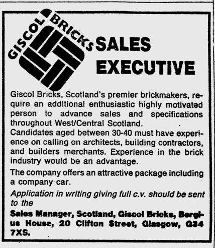 GISCOL BRICK 1988