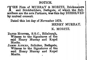 Murray and Moritz 1878 brickmakers