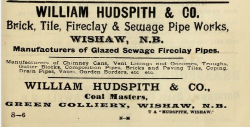 william hudspith 1893