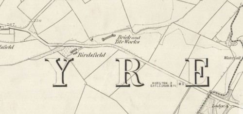 1859 BIRDSFIELD BRICK AND TILE WORKS