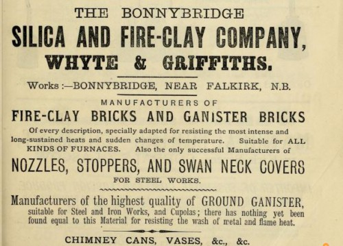 1882 Bonnybridge silica and fireclay whyte griffiths