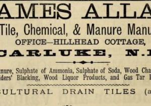 1882 James Allan Carluke