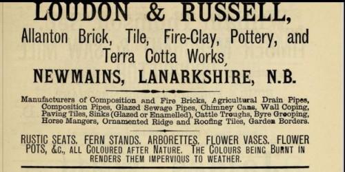 1882 Loudon & Russell Allanton newmains