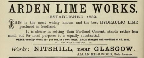 1893 Arden Limeworks