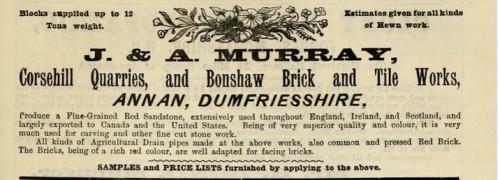 1893 J & A Murray BONSHAW