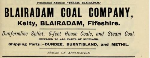 Blairadam Coal Terris