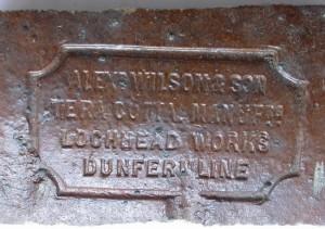 Alexr Wilson & Son Terracotta Manufrs, Lochhead Works, Dunfermline