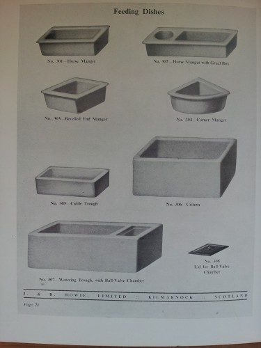 animal feed troughs