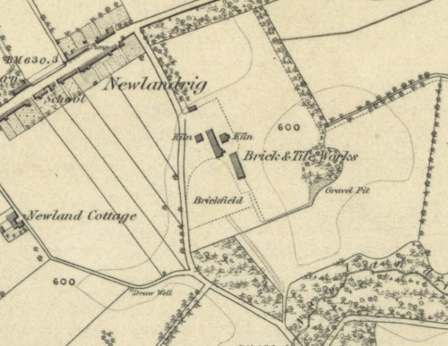 Vogrie brick and tile works 1854