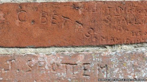 american ww2 brick etchings
