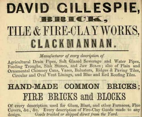 gillespie clackmannan 1867