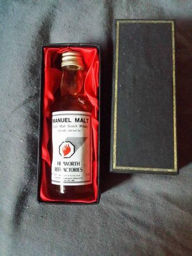 hepworth whisky in presentation box