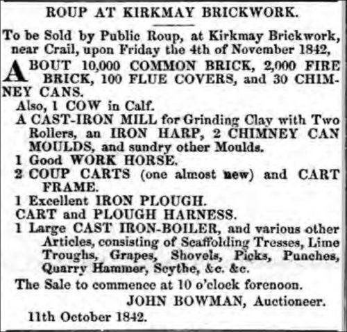 1842-roup-kirkmay-brickworks