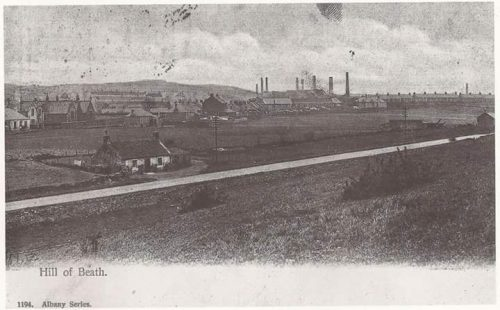 Hill of Beath brickworks closed C 1932