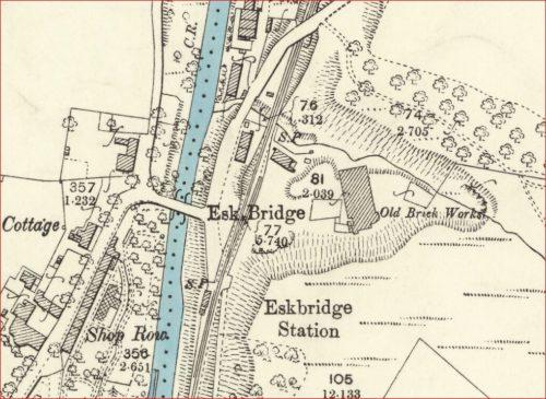 1892 Esk Bridge brickworks