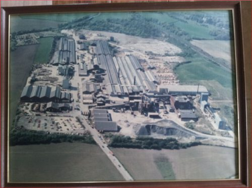 aerial view manuel works whitecross