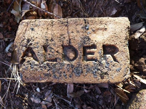 calder brick found near columbia california