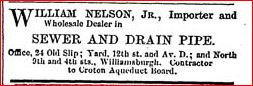 william nelson jr new york advert