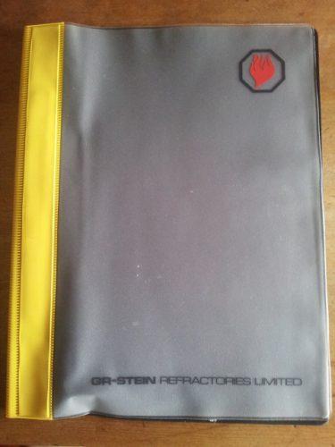 stein plastic folder
