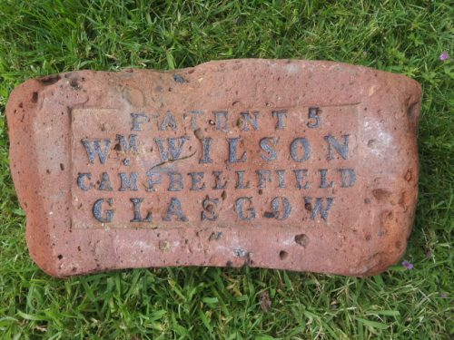 Patent 5 Wm Wilson Campbellfield Glasgow