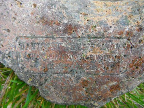 David Methven & Son Links Brick & Tile Works Kirkcaldy trough