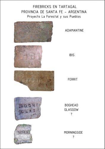 Scottish bricks found in Tartagal, Santa Fe, Argentina